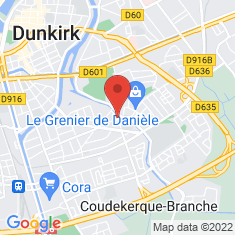 Carte / Plan Coudekerque-Branche