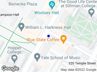 Map showing location of College/Wall (Northbound)