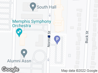 Map showing location of Athletic Office Building