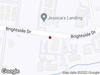Map showing location of Campus Crossings (Eastbound)