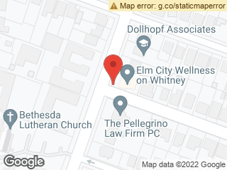 Map showing location of Willow/Whitney