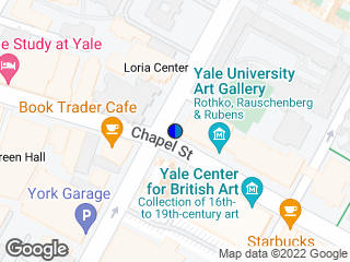 Map showing location of Chapel/York
