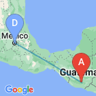 Mexico City - Guatemala City