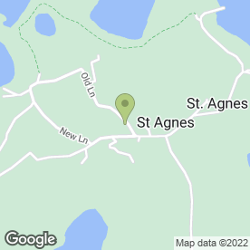 Map of Troytown Farm in St. Agnes, Isles Of Scilly, isles of scilly