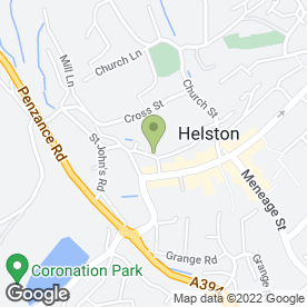 Map of Classic Cottages Ltd in Helston, cornwall