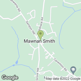 Map of A & L Limo Hire in Mawnan Smith, Falmouth, cornwall