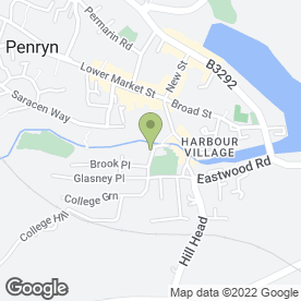 Map of Terminate in Penryn, cornwall