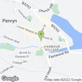 Map of Lush Garden Designs in Penryn, cornwall