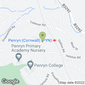 Map of Nightwatch Services in Penryn, cornwall