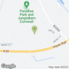 Map of James Hewitt Installations in Hayle, cornwall