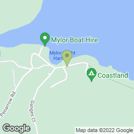 Map of Cafe Mylor Ltd in Mylor Churchtown, Falmouth, cornwall