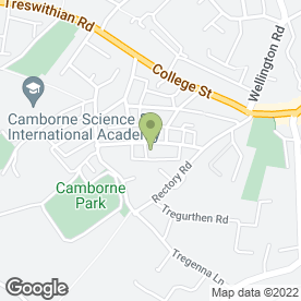 Map of Chris Dillow Kitchen Fitting in Camborne, cornwall