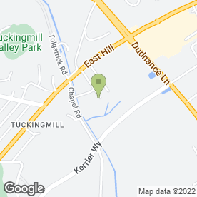 Map of Building Services in Tuckingmill, Camborne, cornwall