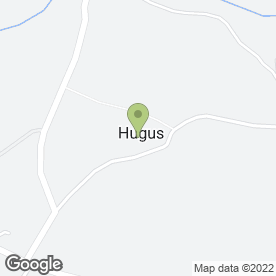 Map of T Michell in Hugus, Truro, cornwall