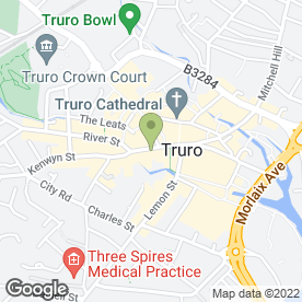 Map of NatWest Bank plc in Truro, cornwall