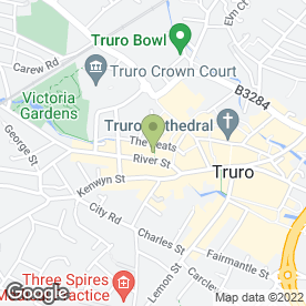 Map of Specsavers Hearing Centres in Truro, cornwall