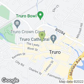 Map of Phones 4 U in Truro, cornwall