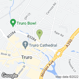 Map of Age UK in Truro, cornwall