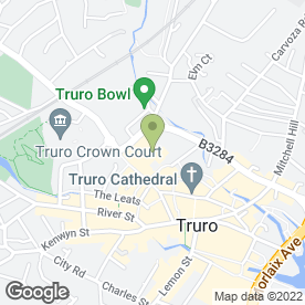 Map of Clowning Around in Truro, cornwall