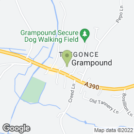 Map of Select Travel Services in Grampound, Truro, cornwall