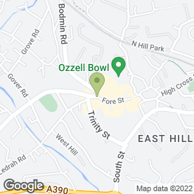 Map of Specsavers Hearing Centres in St. Austell, cornwall