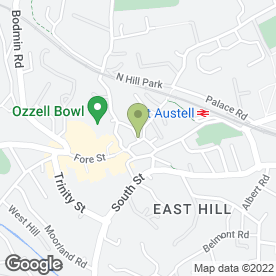 Map of Residential Property Management Ltd in St. Austell, cornwall