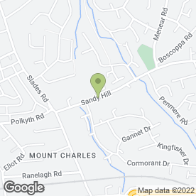 Map of Sandy Hill Physio Ltd in St. Austell, cornwall