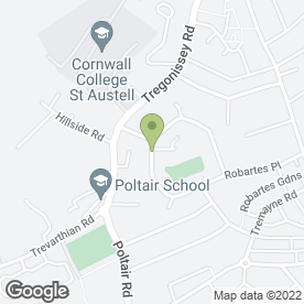Map of Arnold Plant Hire in St. Austell, cornwall