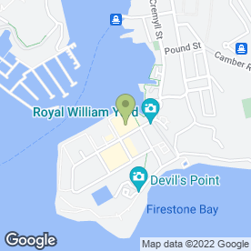 Map of Prezzo plc in Plymouth, devon