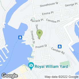 Map of AC Electrical Services in Plymouth