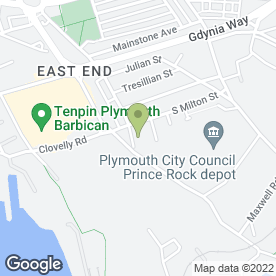 Map of Plymouth Bike Breakers Ltd in Plymouth, devon