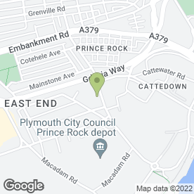 Map of PLYMOUTH AGENCIES in Plymouth, devon