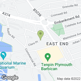 Map of K.K. Controls & Equipment Ltd in Plymouth, devon