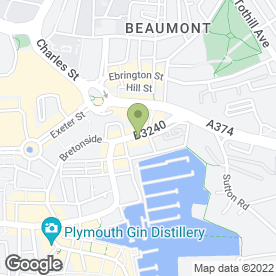 Map of Mace in PLYMOUTH, devon