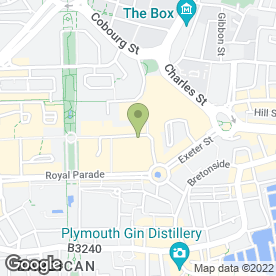 Map of Mr Buns Bakery Ltd in Plymouth, devon