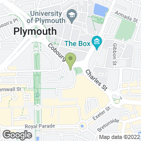 Map of Sarnies in Plymouth, devon
