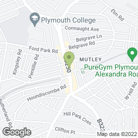 Map of Haart Estate Agents in Plymouth, devon