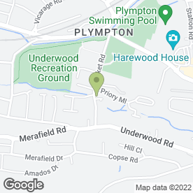 Map of A.J MOTORS (PLYMPTON) in Plympton, Plymouth, devon