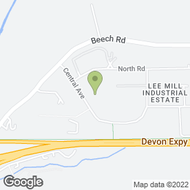 Map of Dusty Bin Ltd in Lee Mill Industrial Estate, Ivybridge, devon