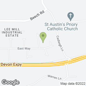 Map of Vending Matters Ltd in Ivybridge, devon