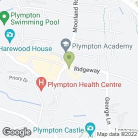 Map of The Wedding Company in Plympton, Plymouth, devon