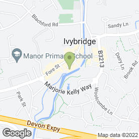 Map of Maitlands Sales & Lettings Agents in Ivybridge, devon