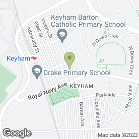 Map of Keyham Childminder in Plymouth, devon