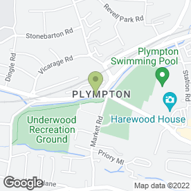 Map of Maitlands Estate Agents Ltd in Plympton, Plymouth, devon