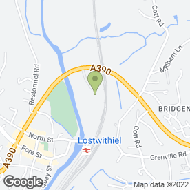 Map of Naturally Learning Childcare in Lostwithiel, cornwall