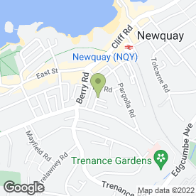 Map of National Tyres and Autocare in Newquay, cornwall
