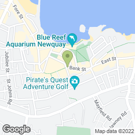 Map of Presto Retail Ltd in Newquay, cornwall