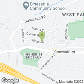 Map of F G Heating in Higher St. Budeaux, Plymouth, devon
