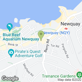 Map of Kernow Satellites in Newquay, cornwall
