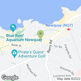 Map of Advantage Bookkeeping in Newquay, cornwall